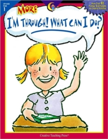 MORE IM THROUGH WHAT CAN I DO GR1, Paperback Book