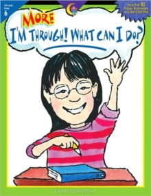 MORE IM THROUGH WHAT CAN I DO GR6, Paperback Book