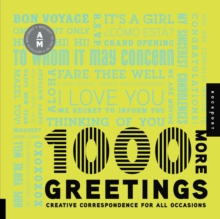 1,000 More Greetings : Creative Correspondence for All Occasions, Paperback / softback Book