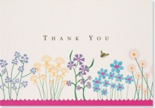 Thank You Notes Sparkly Garden, Cards Book
