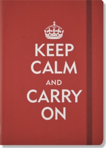 Small Journal Keep Calm and Carry on, Diary Book