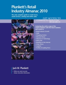 Plunkett's Retail Industry Almanac 2010 : Retail Industry Market Research, Statistics, Trends & Leading Companies, Paperback / softback Book