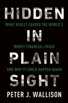 Hidden in Plain Sight : What Really Caused the World's Worst Financial Crisis and Why It Could Happen Again, Paperback / softback Book