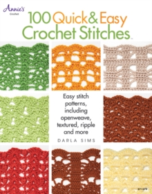 100 Quick & Easy Crochet Stitches, Paperback Book