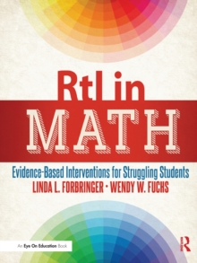 RtI in Math : Evidence-Based Interventions for Struggling Students, Paperback Book