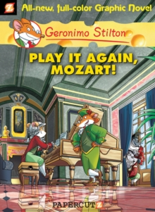 Geronimo Stilton 8 : Play It Again, Mozart, Hardback Book