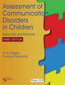 Assessment of Communication Disorders in Children : Resources and Protocols, Paperback / softback Book