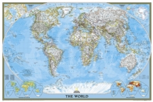 World Classic, Poster Size, Tubed : Wall Maps World, Sheet map, rolled Book