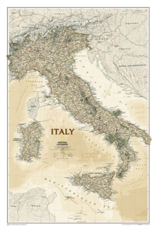 Italy Executive, Tubed : Wall Maps Countries & Regions, Sheet map, rolled Book