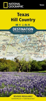 Texas Hill Country : Destination Map, Sheet map, folded Book