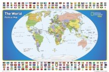 World for Kids, the, Poster Sized, Boxed : Wall Maps World, Sheet map Book