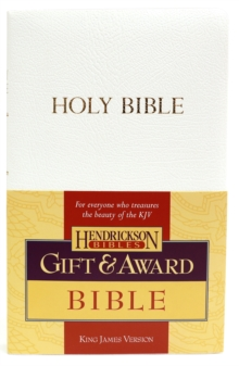KJV Gift and Award Bible - White, Paperback / softback Book
