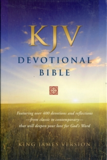 KJV Devotional Bible, Leather / fine binding Book