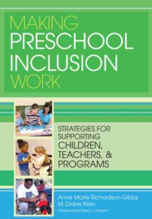making the pre school setting a supportive Cache level 3 diploma in pre-school practice core unit 3 – making the pre-school setting a supportive and safe environment the 1981 warnock report and.