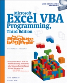 Microsoft (R) Excel (R) VBA Programming for the Absolute Beginner, Paperback / softback Book