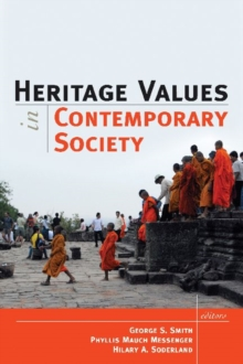 Heritage Values in Contemporary Society, Paperback / softback Book