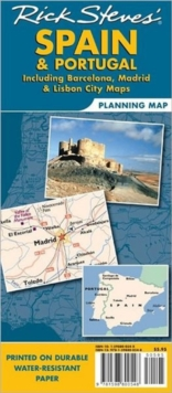 Rick Steves' Spain and Portugal Map, Sheet map, folded Book