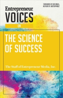 Entrepreneur Voices on the Science of Success, Paperback / softback Book