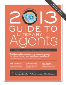 2013 Guide to Literary Agents, Paperback / softback Book