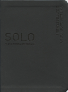 Message: Solo New Testament-MS, Leather / fine binding Book
