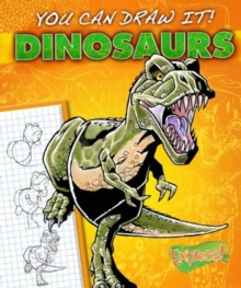 Express : You Can Draw It! Dinosaurs, Hardback Book