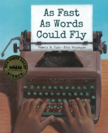 As Fast As Words Could Fly, Hardback Book