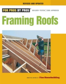Framing Roofs, Paperback / softback Book