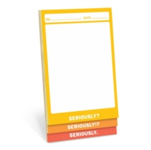 Seriously 3 Way Pad (Small), Stickers Book