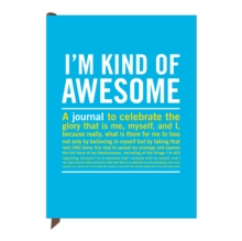 Knock Knock I`m Kind of Awesome Inner Truth Journal, Notebook / blank book Book