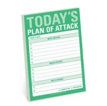 Today's Plan of Attack Great Big Stickies, Stickers Book