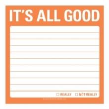 Knock Knock It`s All Good Sticky Note, Stickers Book