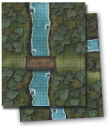 Gamemastery Flip-Mat: River Crossing, Game Book