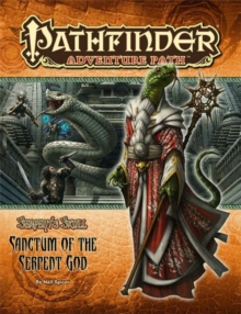 Pathfinder Adventure Path: The Serpent's Skull Part 6 - Sanctum of the Serpent God, Paperback Book