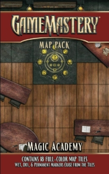 GameMastery Map Pack: Magic Academy, Game Book