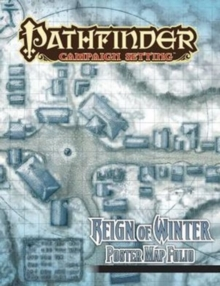 Pathfinder Campaign Setting: Reign of Winter Poster Map Folio, Paperback / softback Book
