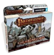 Pathfinder Adventure Card Game: Rise of the Runelords Deck 4 - Fortress of the Stone Giants Adventur, Game Book