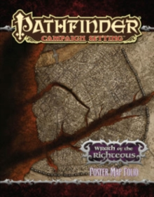 Pathfinder Campaign Setting: Wrath of the Righteous Poster Map Folio, Game Book