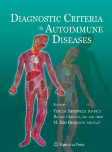 Diagnostic Criteria in Autoimmune Diseases, Hardback Book
