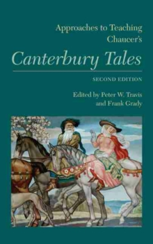 Approaches to Teaching Chaucer's Canterbury Tales, EPUB eBook