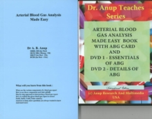 ABG -- Arterial Blood Gas Analysis Made Easy Audio CD, Mixed media product Book