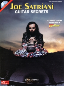 Joe Satriani : Guitar Secrets, Paperback / softback Book