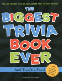Biggest Trivia Book Ever, Paperback Book