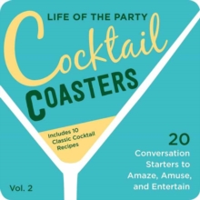 Cocktail Coasters 2, Board book Book