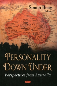 Personality Down Under : Perspectives from Australia, Hardback Book