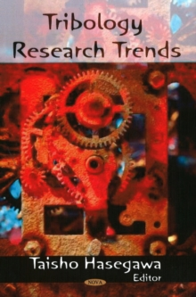 Tribology Research Trends, Hardback Book