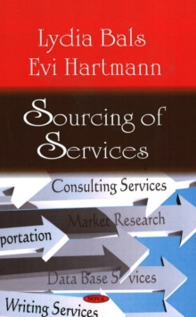 Sourcing of Services, Hardback Book