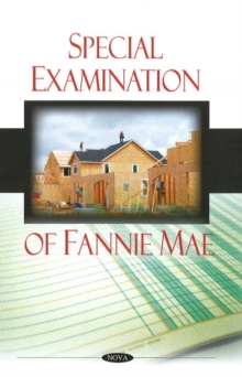 Special Examination of Fannie Mae, Paperback Book