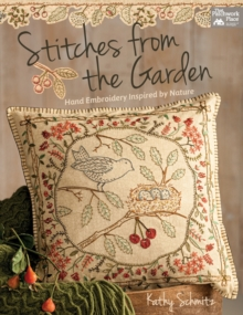 STITCHES FROM THE GARDEN, Paperback Book