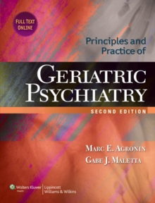 Principles and Practice of Geriatric Psychiatry, Hardback Book