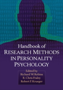 Handbook of Research Methods in Personality Psychology, Paperback / softback Book